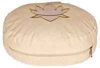 Meditationskissen Lotus oval natur