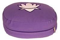 Meditationskissen Lotus oval lila