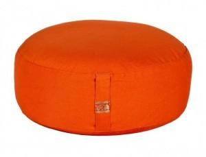 Meditationskissen Basic ohne Inlett orange