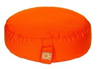 Yogilino® Reise Meditationskissen Mini oval orange