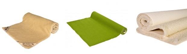 Schurwollmatten: komfortable Unterlagen für Dein Yoga
