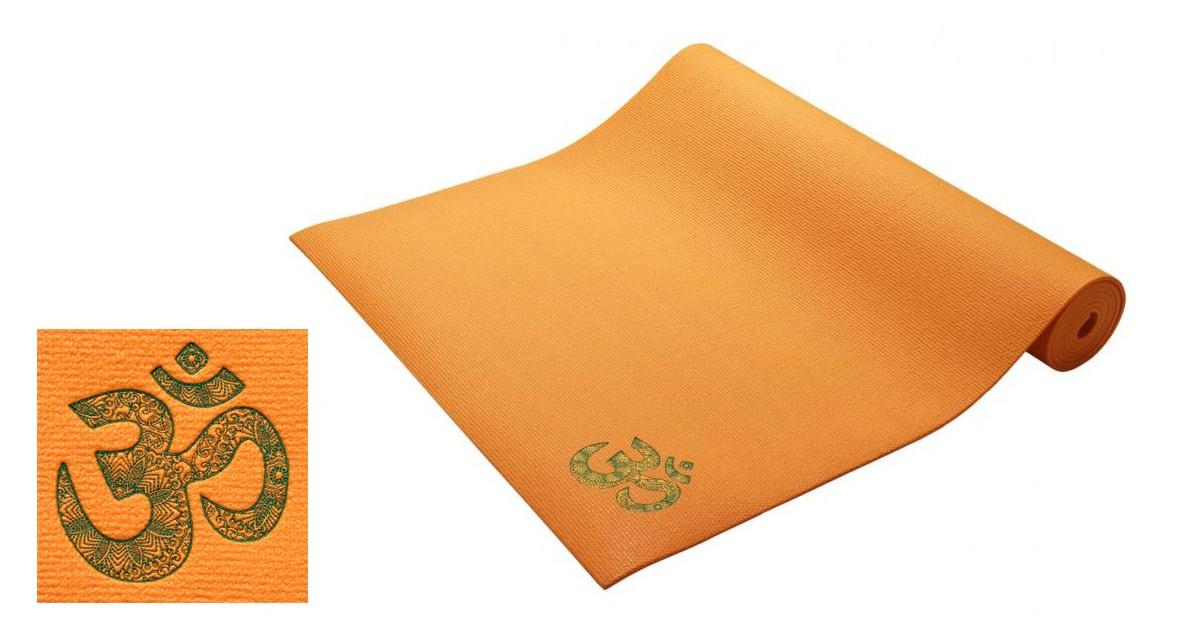 Yogamatte Premium mit OM Stick