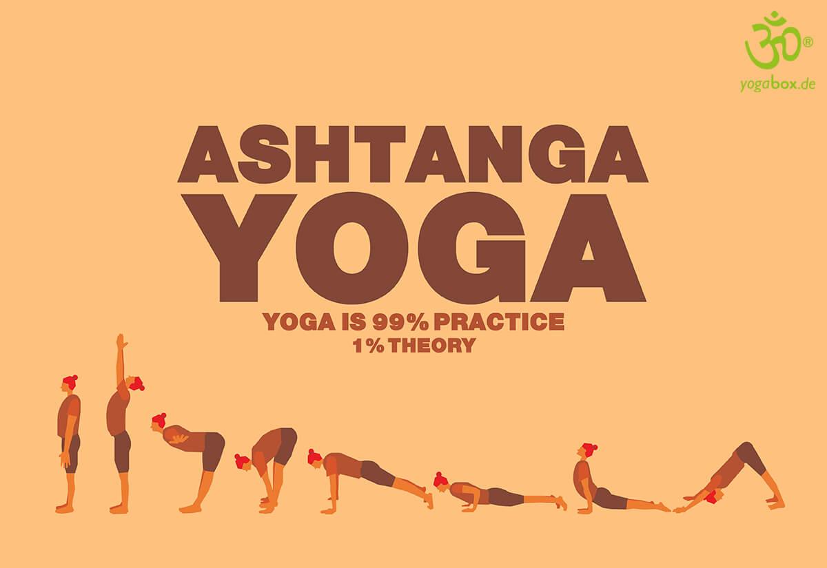 Ashtanga Yoga - im Bewegungsfluss bleiben