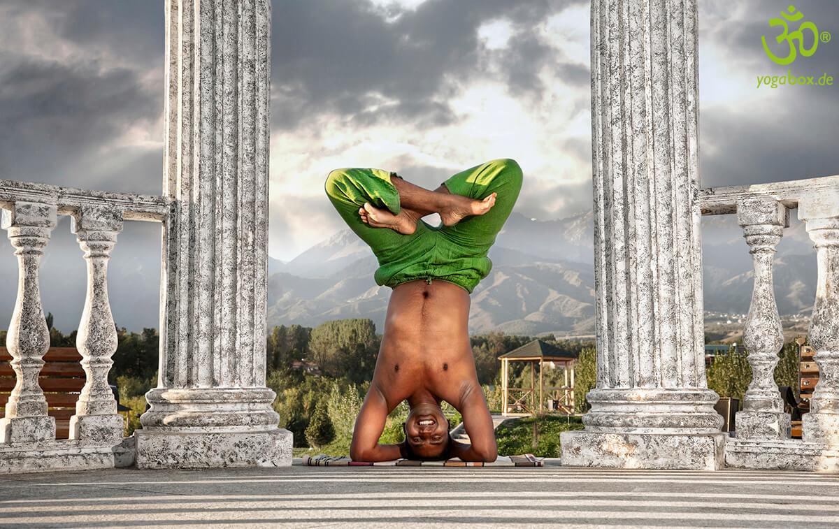 Yoga Umkehrhaltungen: Der Kopfstand (Shirshasana)