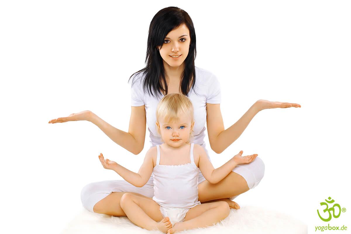 Bereits ab sechs Wochen: Spielerisches Yoga stärkt Kinder in jedem Alter