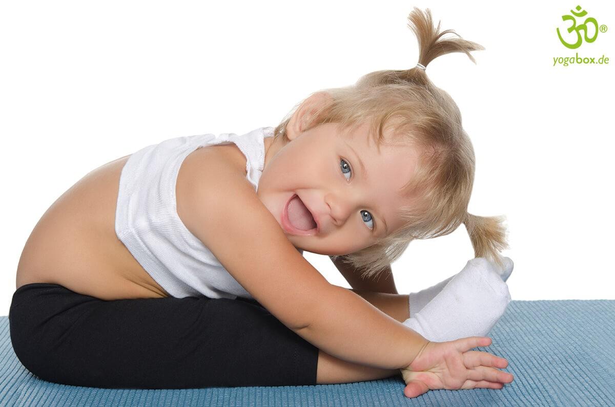 Einfache Yoga-Übungen für Kinder