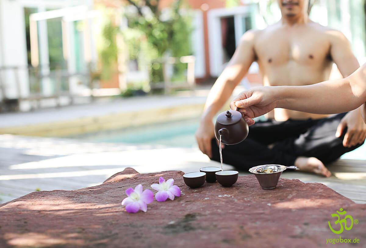 Yogaübungen bei Erkältungen