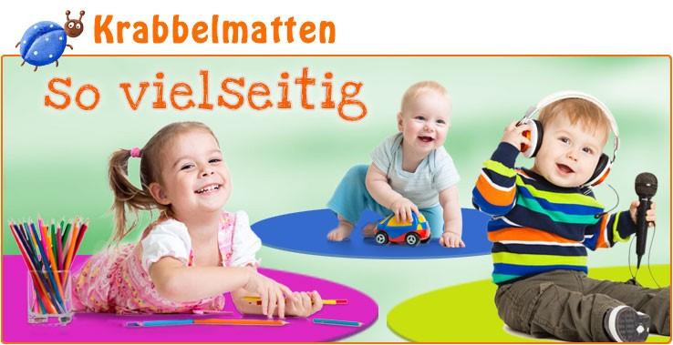 Spielmatten für Kinder - Turnen, Toben und die ersten Yogaübungen