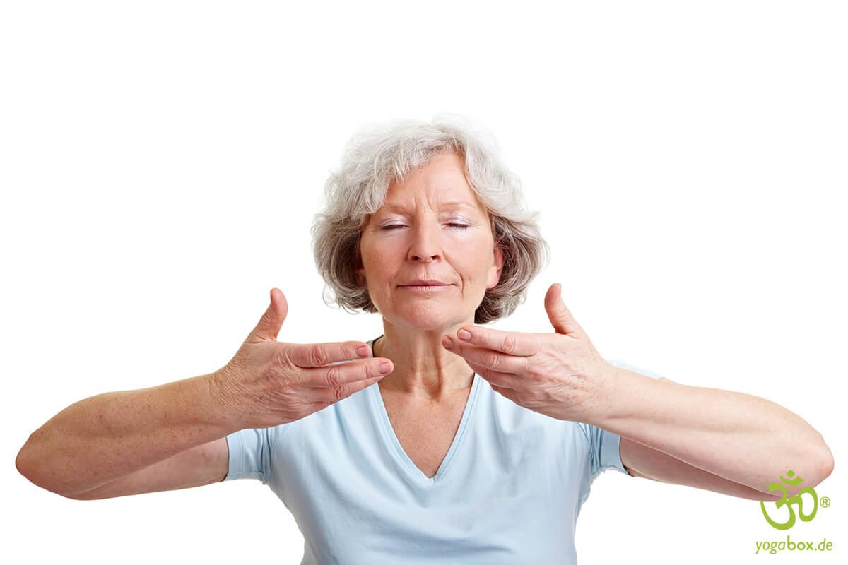 Atemyoga mit positiven Nebenwirkungen
