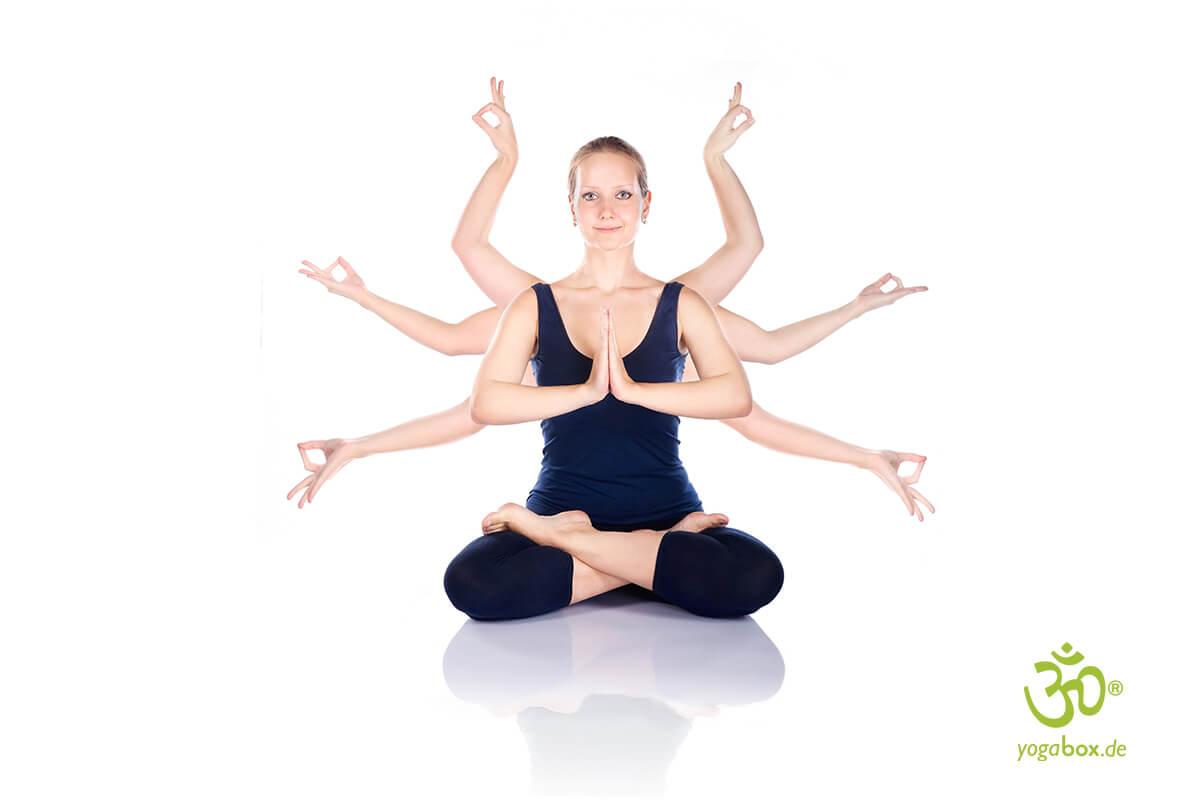 Mudras - kleine Yogaübungen für zwischendurch