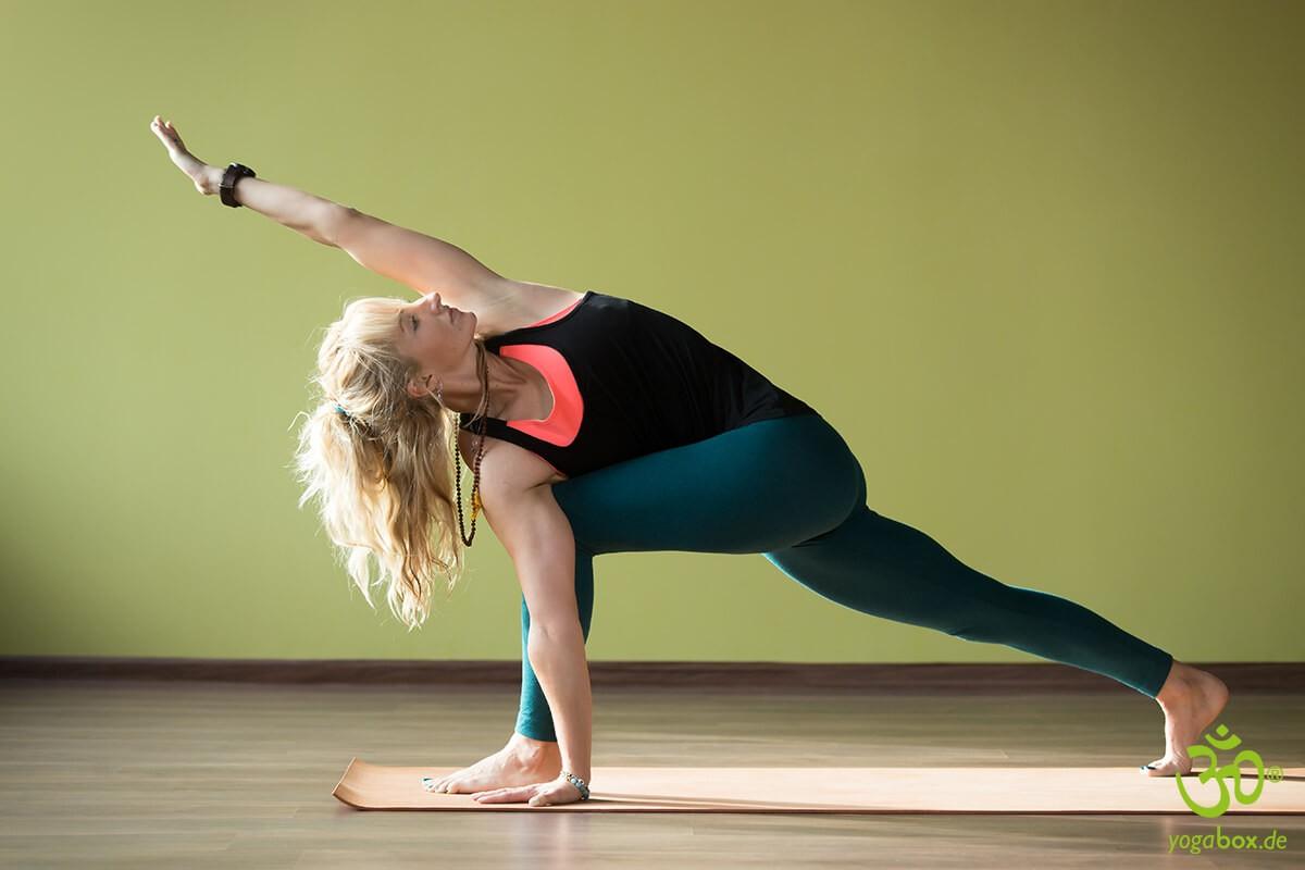Die Flankendehnung - Yoga Standhaltung