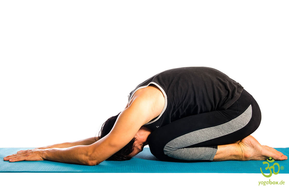 Die Kindhaltung/Siegel des Yoga - Yoga Mudra
