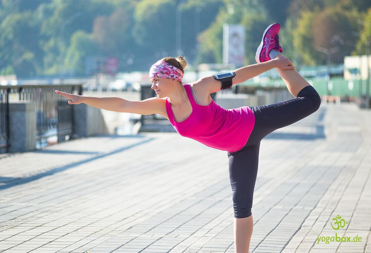 Joggen und Yoga - eine ideale Kombination für ein gesundes und leistungsoptimiertes Training