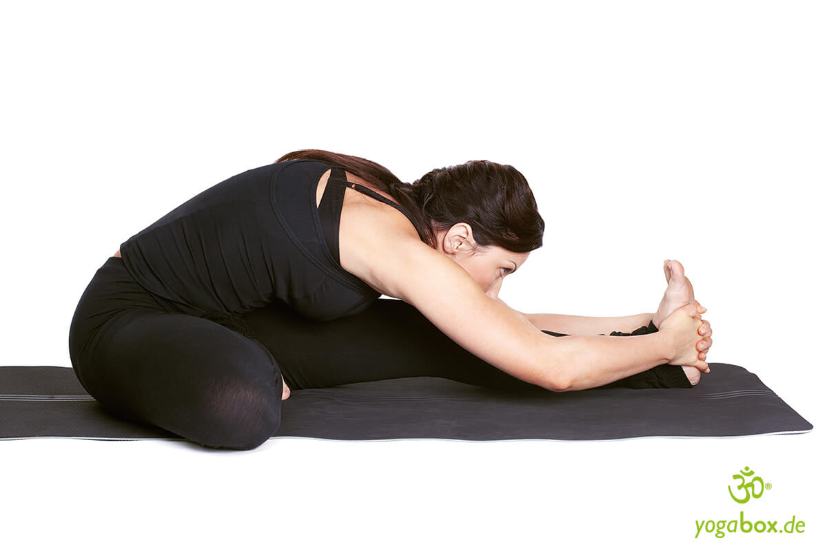 Janu Shirshasana - die Kopf-Knie-Stellung