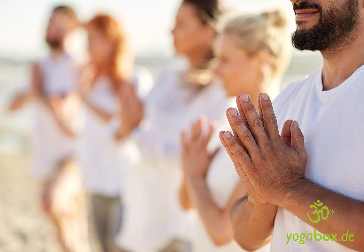 Die Gebetshaltung (Anjali Mudra)