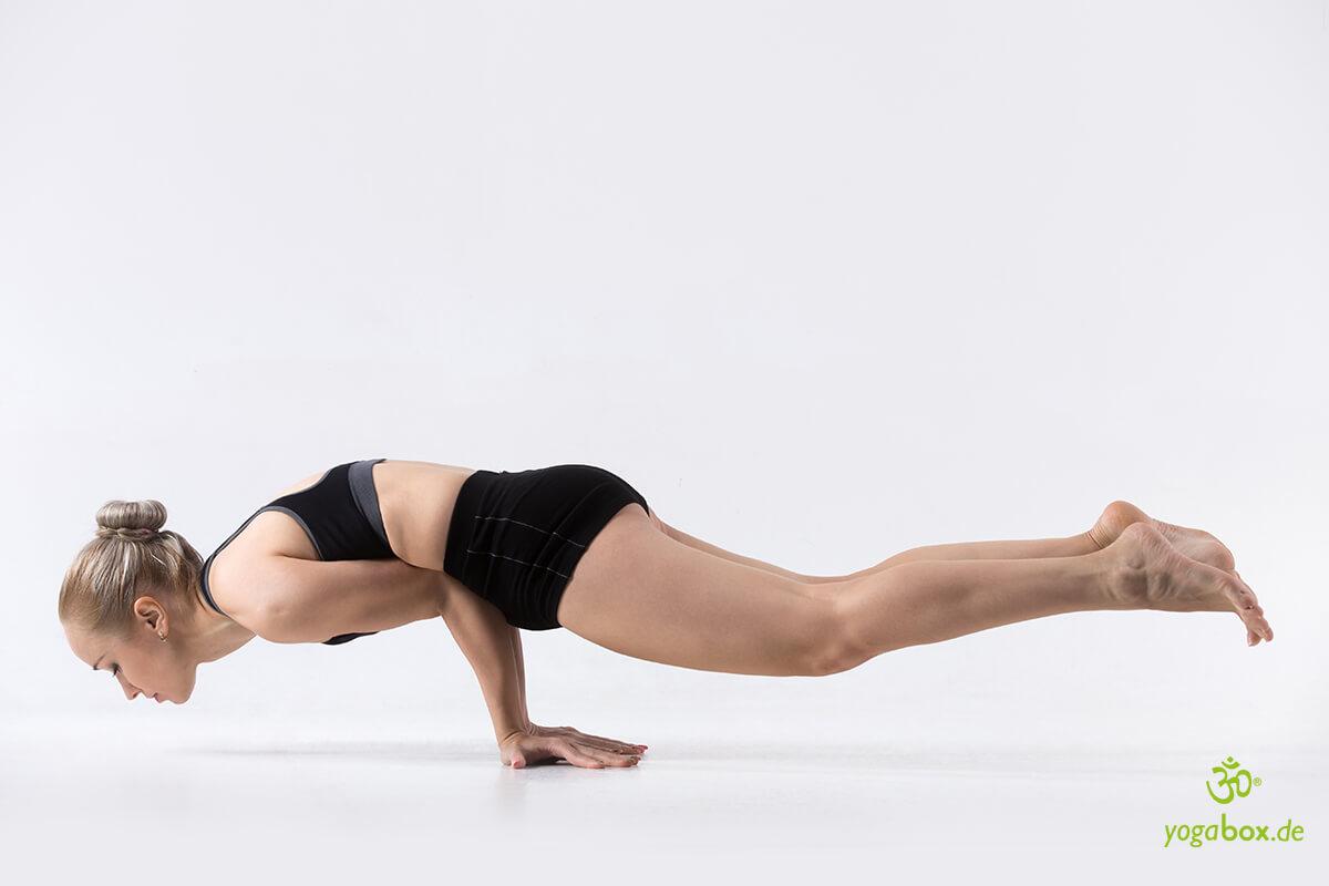 Mayurasana Pfau - Yoga für das Verdauungssystem