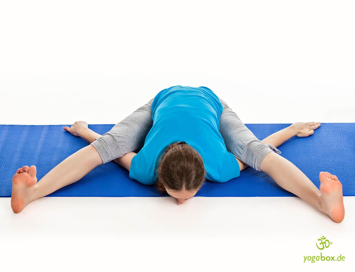Kurmasana - die Yoga Schildkröte