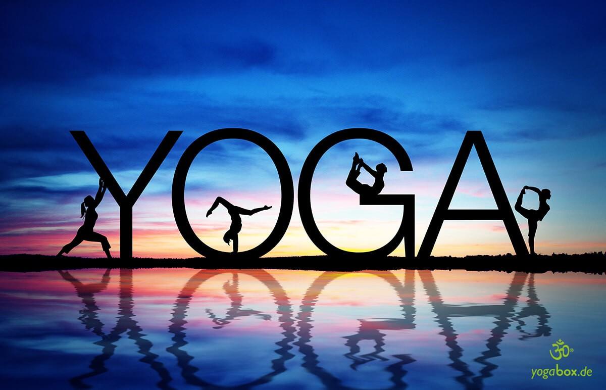 Yoga: weltweit beliebt