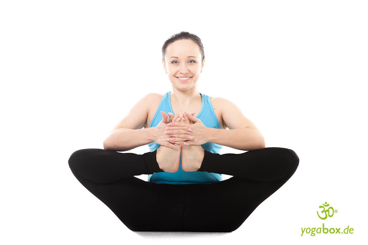 Die Kandasana Pose - mehr Energie im Wurzel-Chakra