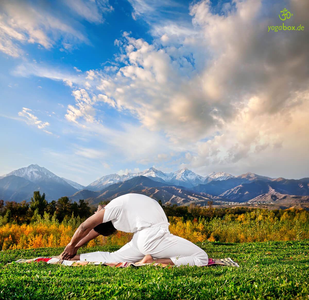 Die Position der himmlischen Geister - Valakhilyasana