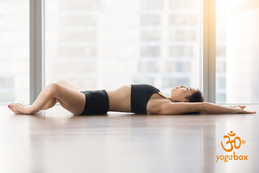 Supta Baddha Konasana - Entspannung für Schwangere