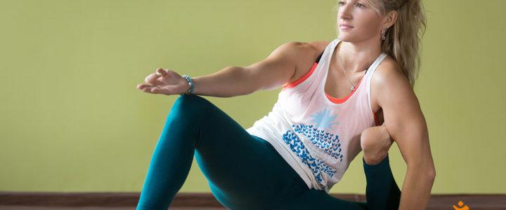 Yoga Dandasana - die anspruchsvolle Stockhaltung
