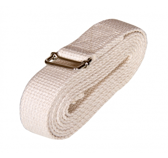 Yogagurt Poona 25mm breit mit Metall Schiebeverschluss - in Deutschland hergestellt