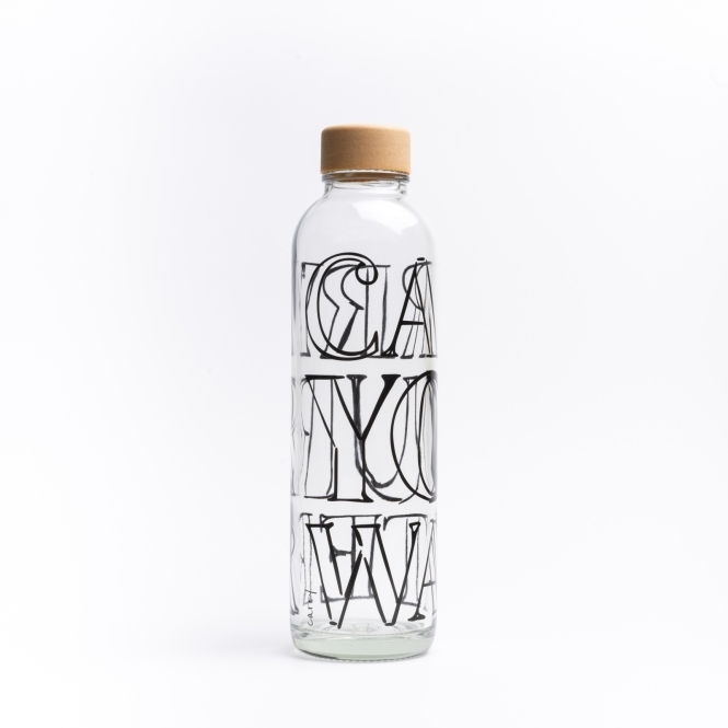 Glastrinkflasche CARRY 0.7 l CARRY YOUR WATER