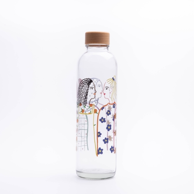 Glastrinkflasche CARRY 0.7 l SOUL SISTERS