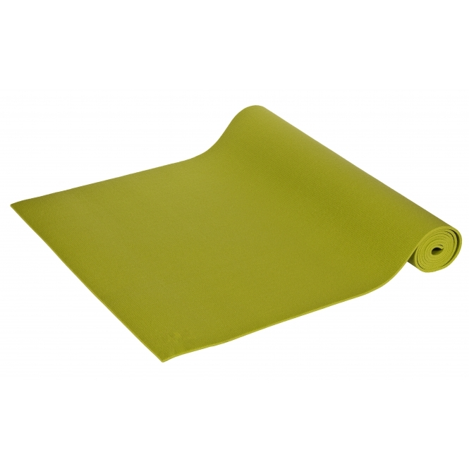 Yogamatte Premium 2. Wahl 183 - 200 x 60 x 0,3 cm Made in Germany grün