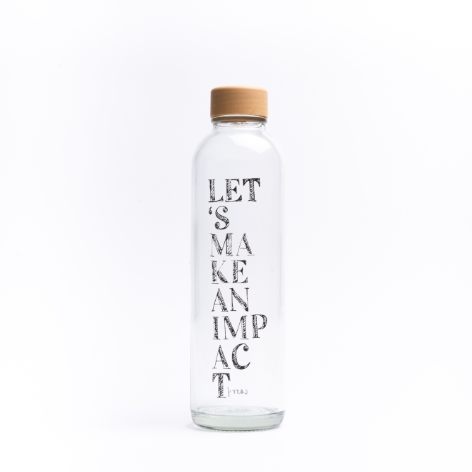Glastrinkflasche CARRY 0.7 l IMPACT