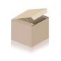 Yogadecke SHAVASANA robuste Baumwolle, Farbe: natur / aubergine, Sofort lieferbar