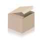 Yogamatte Premium Plus orange mit OM Mandala Stick, Farbe: blau, Sofort lieferbar