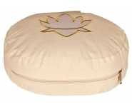 Meditationskissen Lotus oval natur
