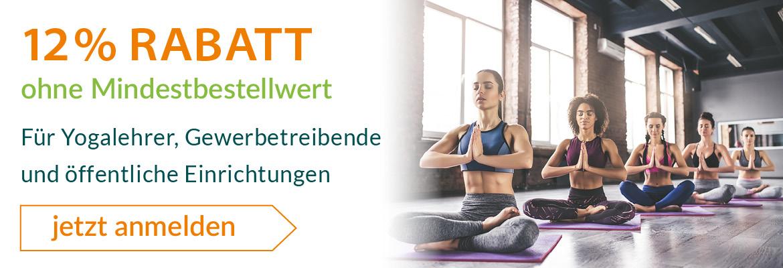 12% Yogalehrer Rabatt bei yogabox